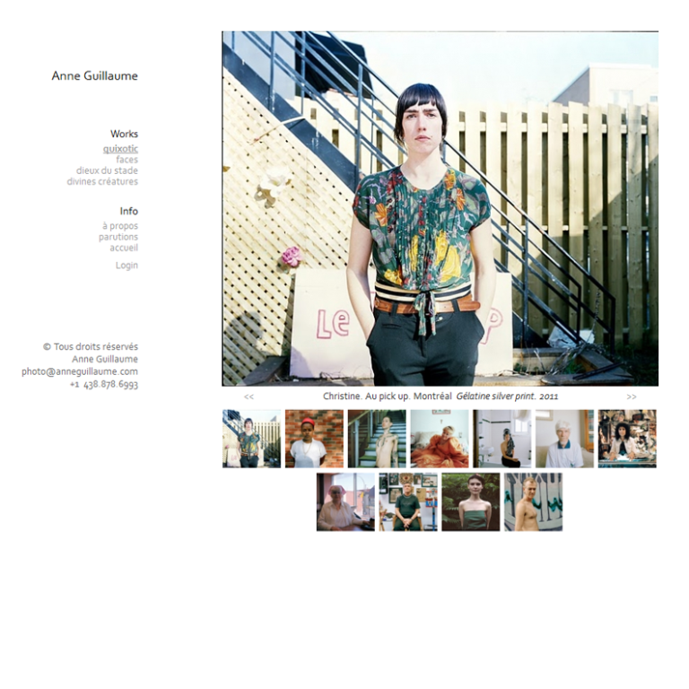 Site Web Photographe