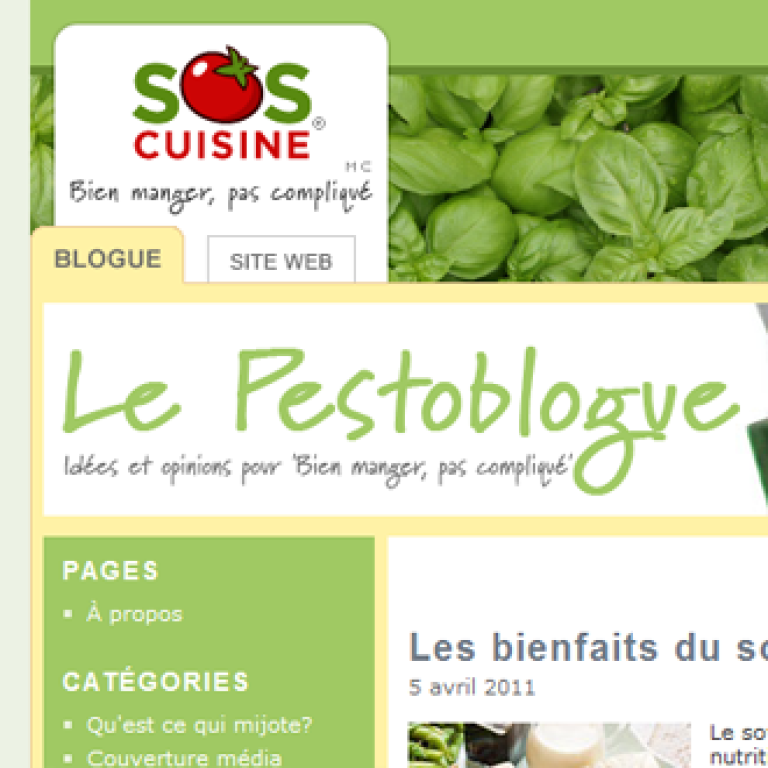 Pestoblogue